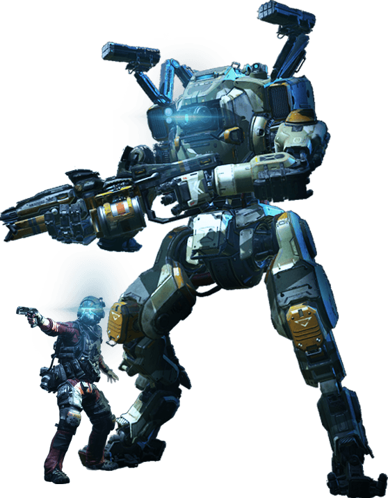 Titanfall 2 png. Multiplayer technical test and