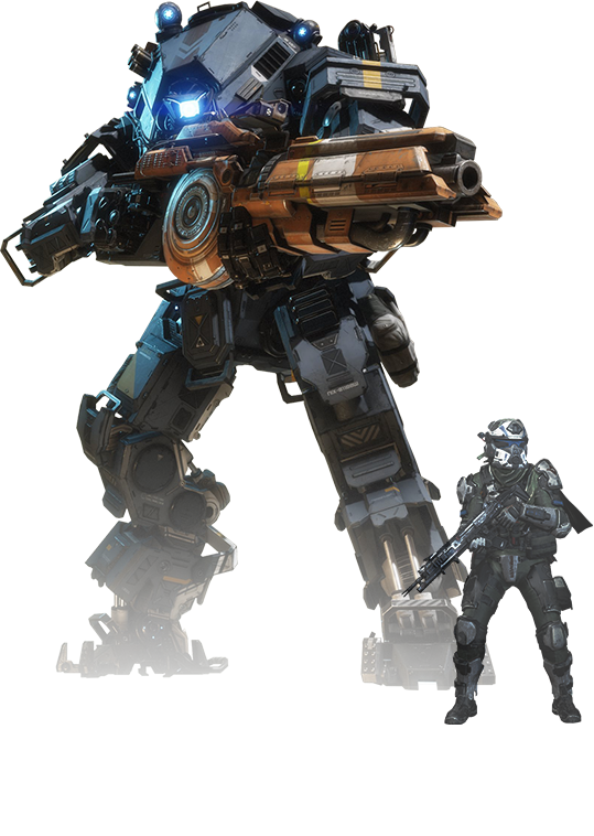 Titanfall 2 png. Video game review n
