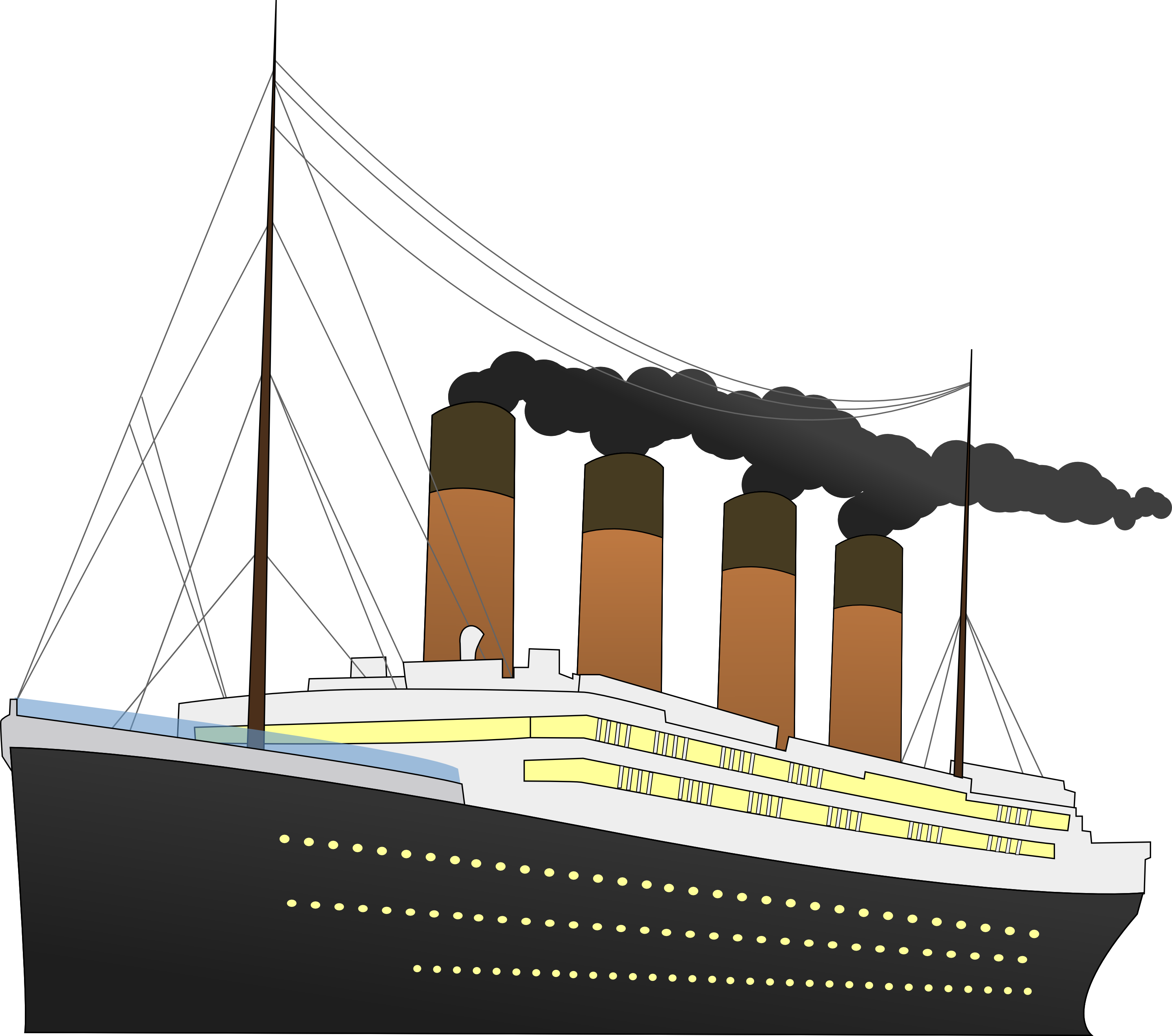 drawing titanic