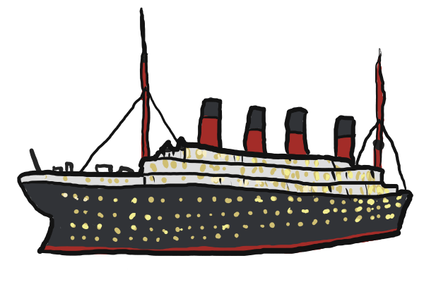 . Titanic clipart png library