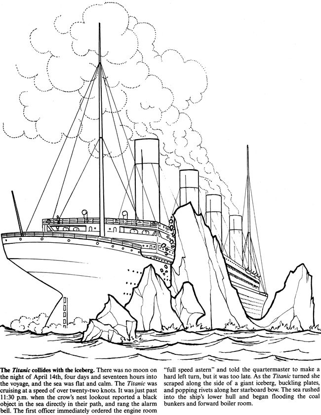 Titanic clipart color. Printable to printables and