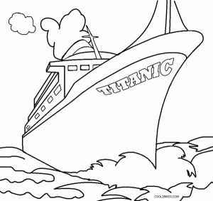 Titanic clipart color. Coloring pages print abc