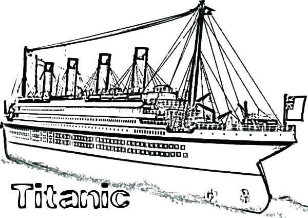 Titanic clipart printable. Coloring pages lovely image