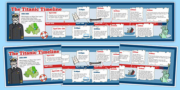 Titanic clipart time line. The primary resources iceberg