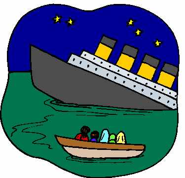 Titanic clipart titanic ship. Bulletin article saving the