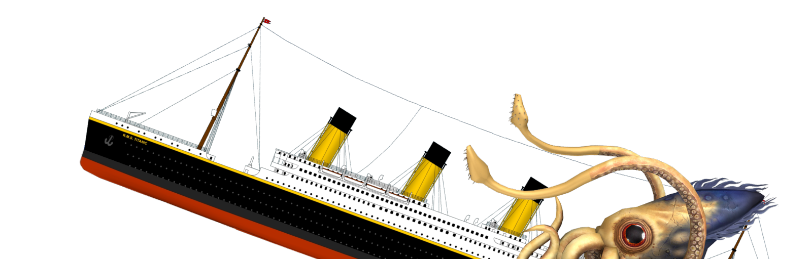 Titanic ship png. Unreal software file r