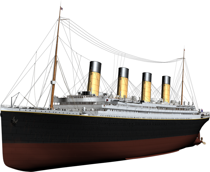 Titanic ship png. Images free download