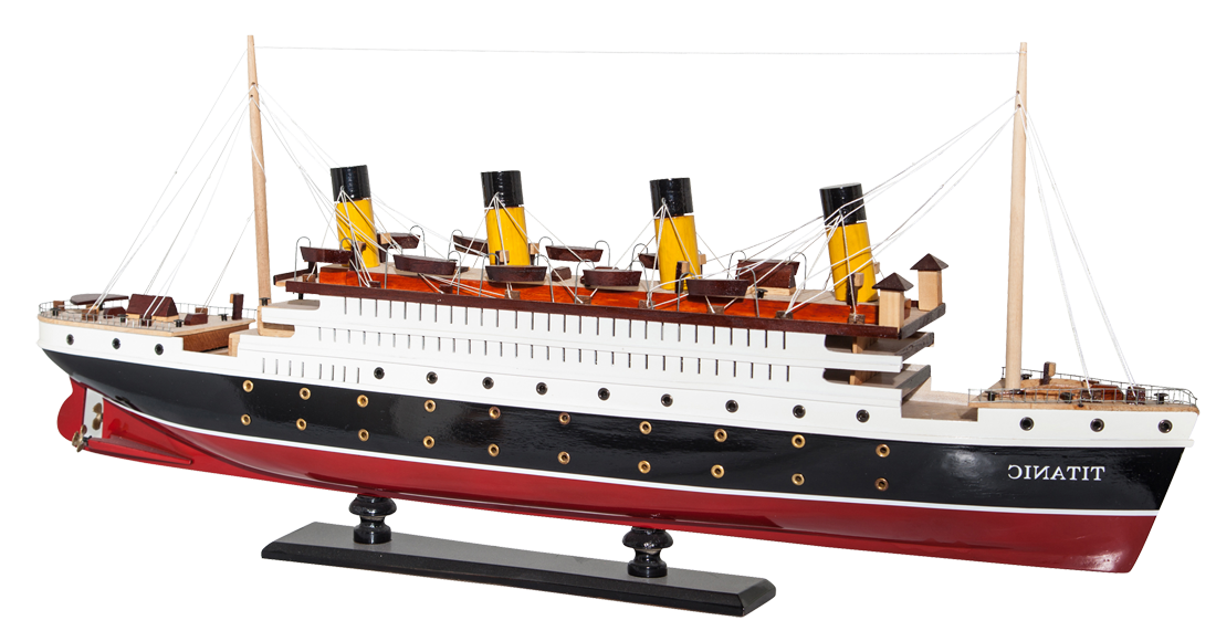 Titanic ship png. Model is assembled various