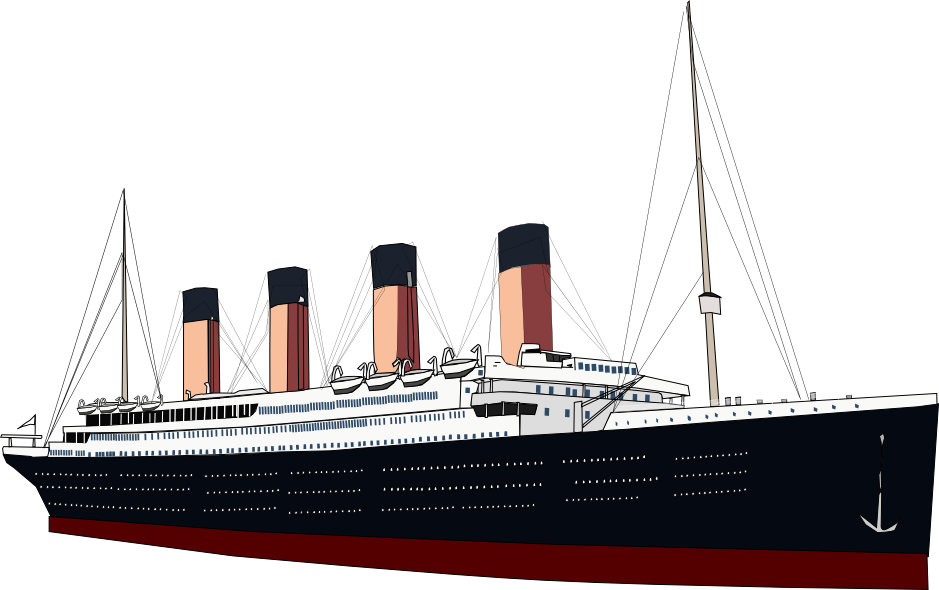 titanic transparent