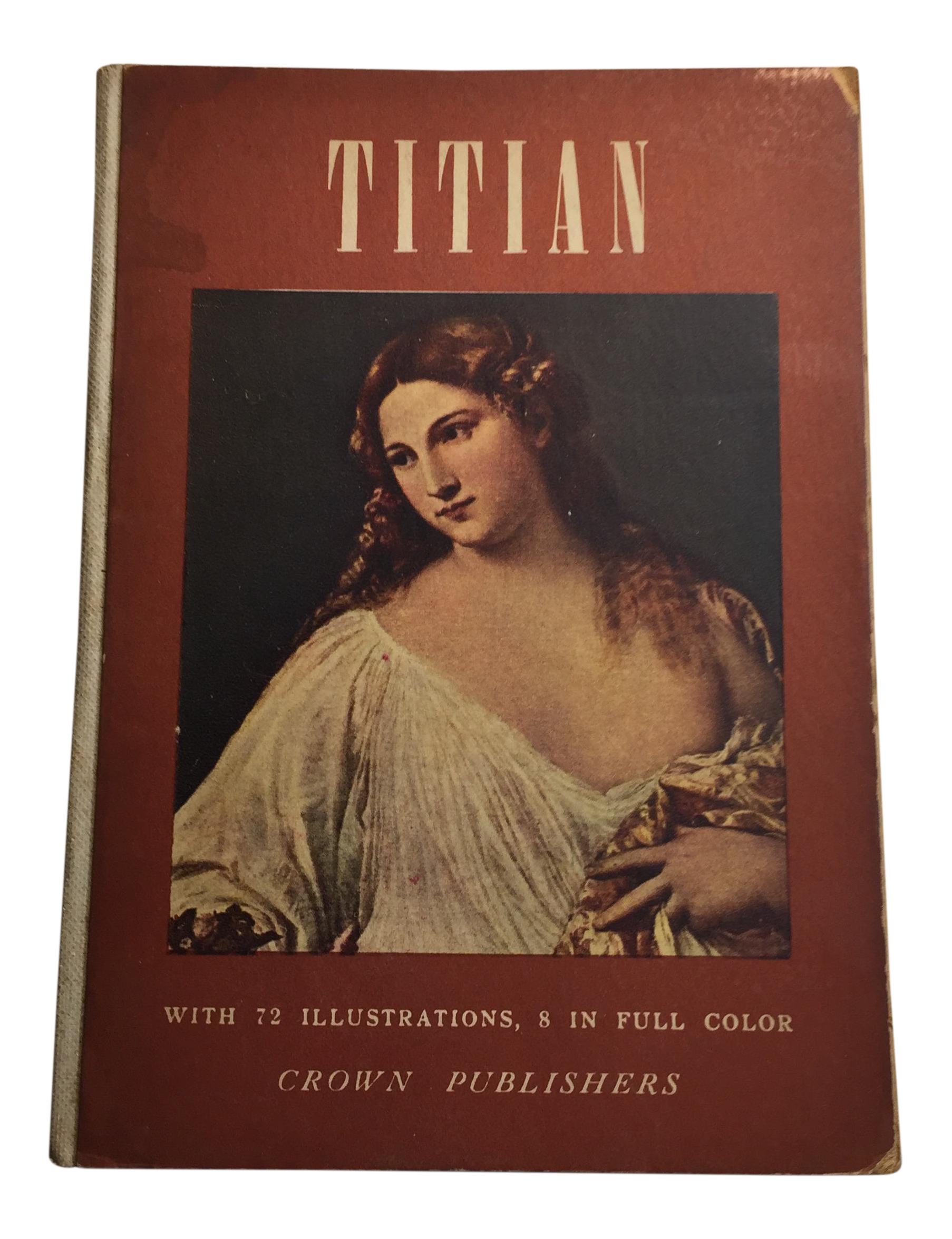 Titian drawing landscape. Book by luisa