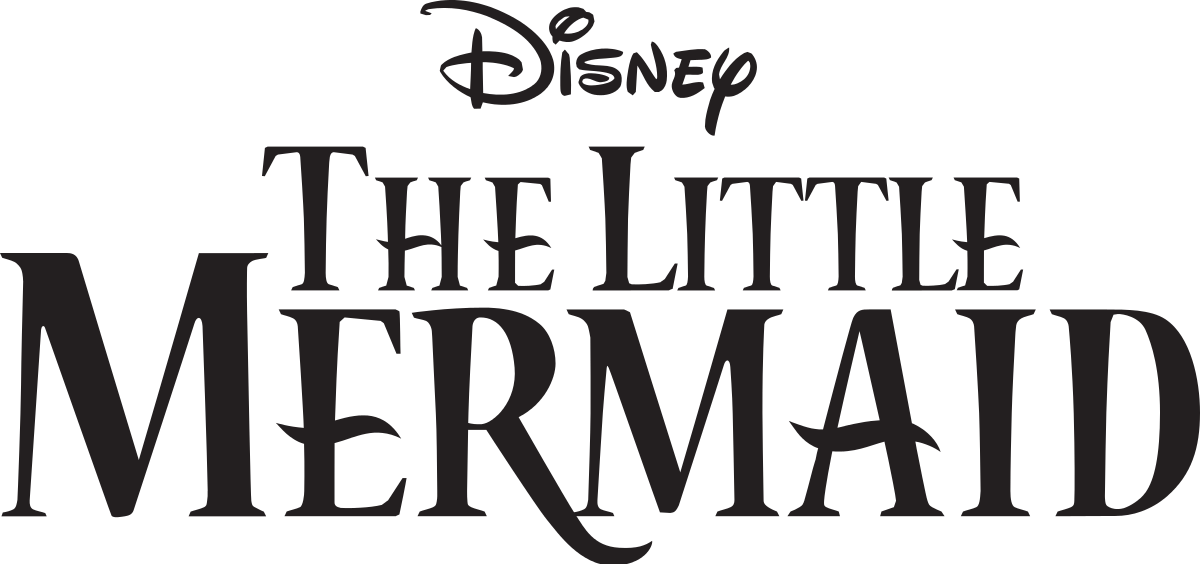 Titulos de movie png. The little mermaid franchise