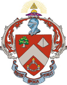 Tke crest png. Triangle fraternity wikipedia crestpng