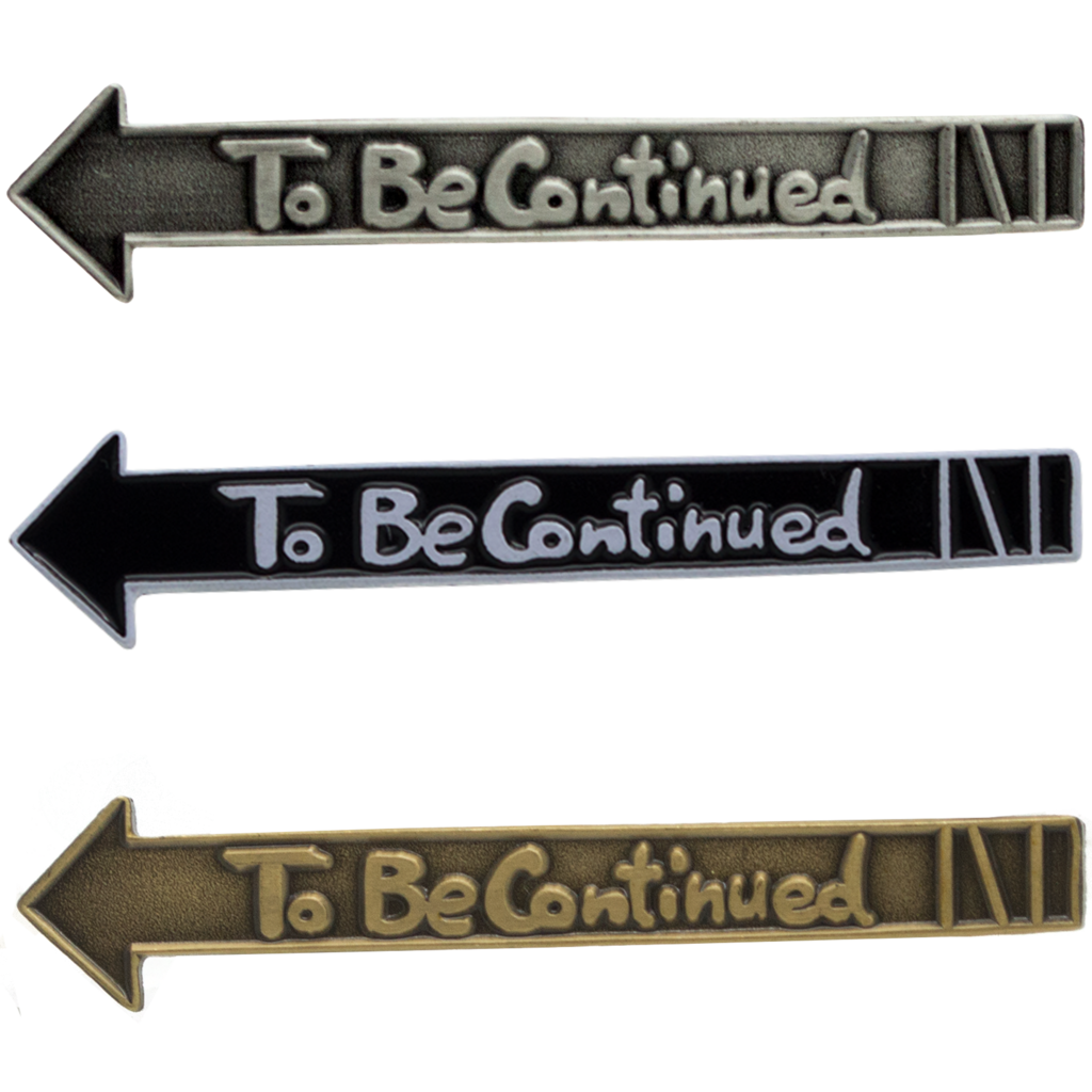 To be continued meme png. Jojo enamel pin atomic