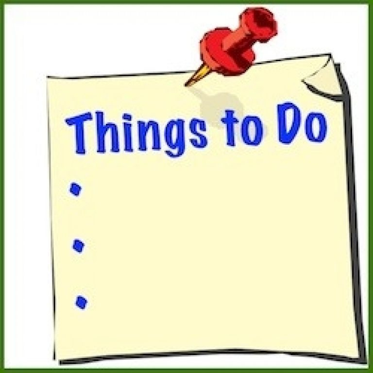 To do clipart. List intended for things