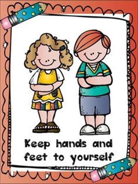 To self clipart keep. Hands and feet yourself
