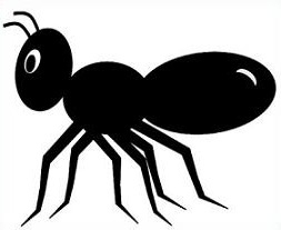 To the clipart ant. Letters clip art free