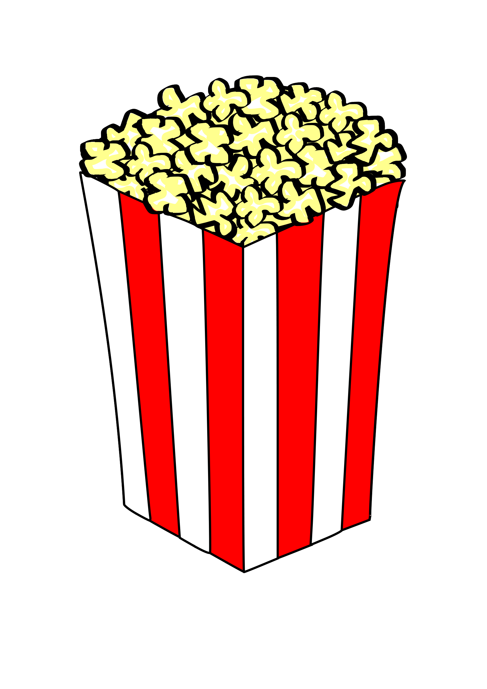 To the clipart popcorn. Panda free images info