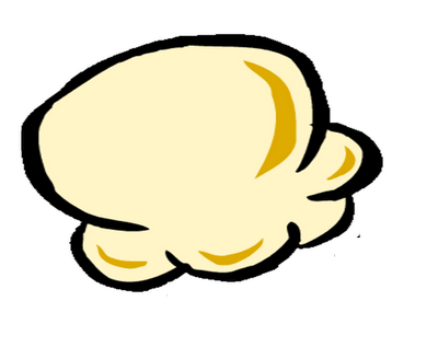 To the clipart popcorn. Free kernel download clip