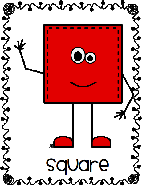 To the clipart shape. Shapes people classroom organization