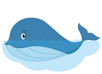 Whale clipart. Free clip art pictures