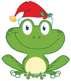 Toad clipart christmas. Stephanie stouffer frog frosch