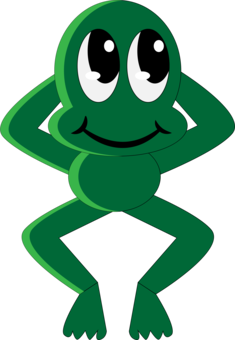 Toad clipart frog pond. Frogs and fish amphibian