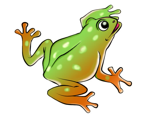 Toad clipart tadpole. Froggy pencil and in