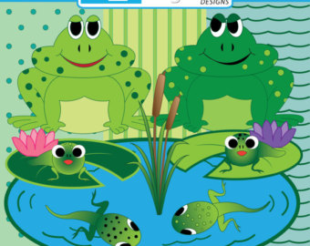 Toad clipart tadpole. Pencil and in color