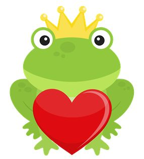 Toad clipart valentine. Pencil and in color