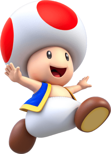 Toad transparent animated. Super mario wiki the