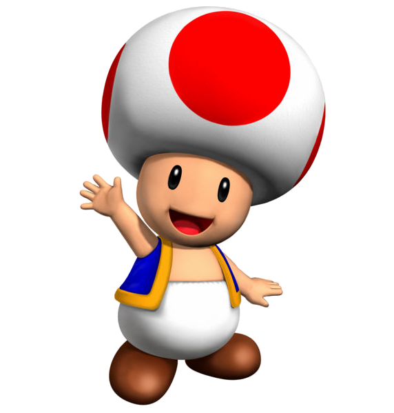 toad transparent hat