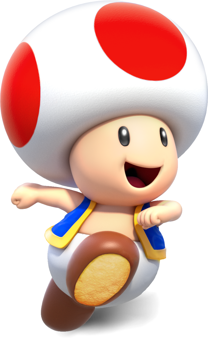 toad transparent dry
