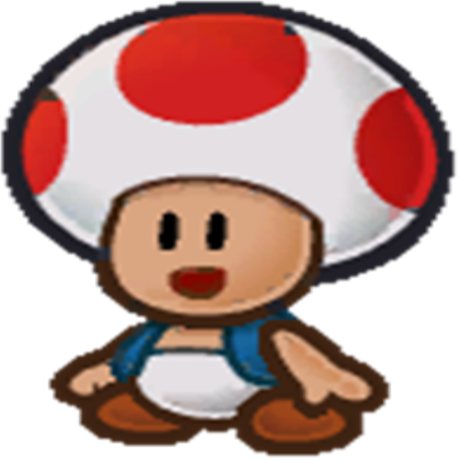 Toad transparent animated. Roblox