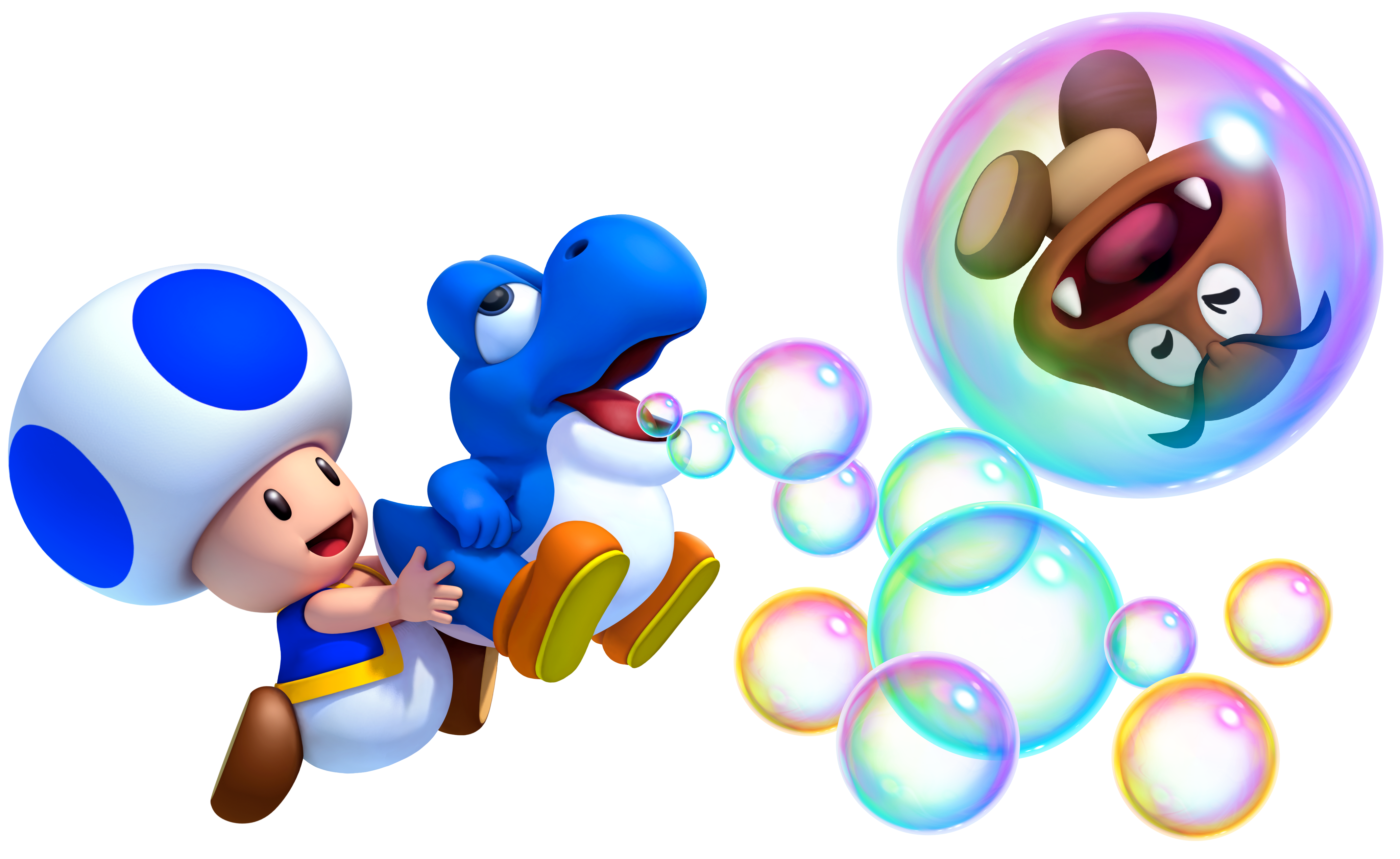 Yoshi vector super mario. Images toad and blue