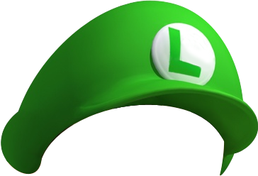 Toad transparent hat. Luigi s mansion dark