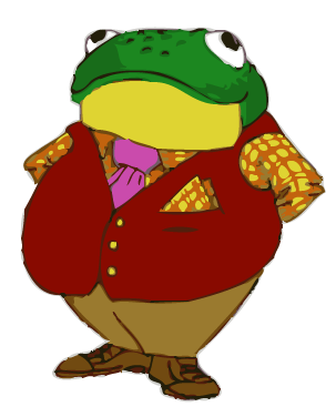 Toad transparent little. The toady of hall
