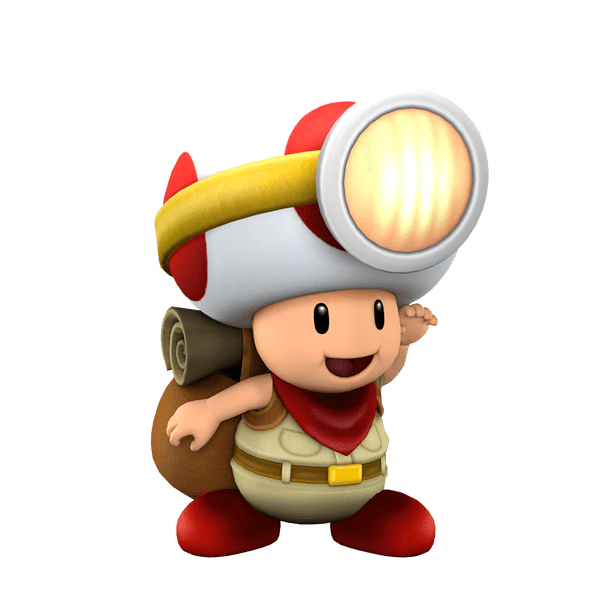 Toad transparent mario brothers. Nintendo pictures and