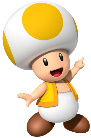 Toad transparent mario party 9. Image yellow png mariowiki