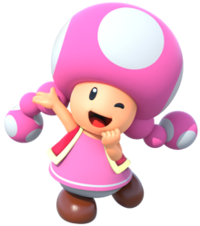 Toad transparent toadette. Mariowiki fandom powered by