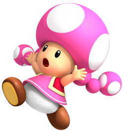 Toad transparent toadette. Mario wiki neoseeker