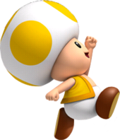 Toad transparent yellow. Character super mario wiki