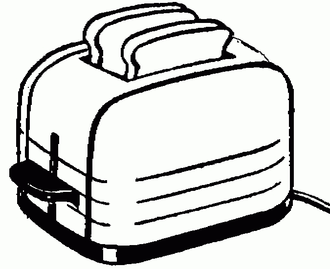 Toast clipart toaster. Best of black and