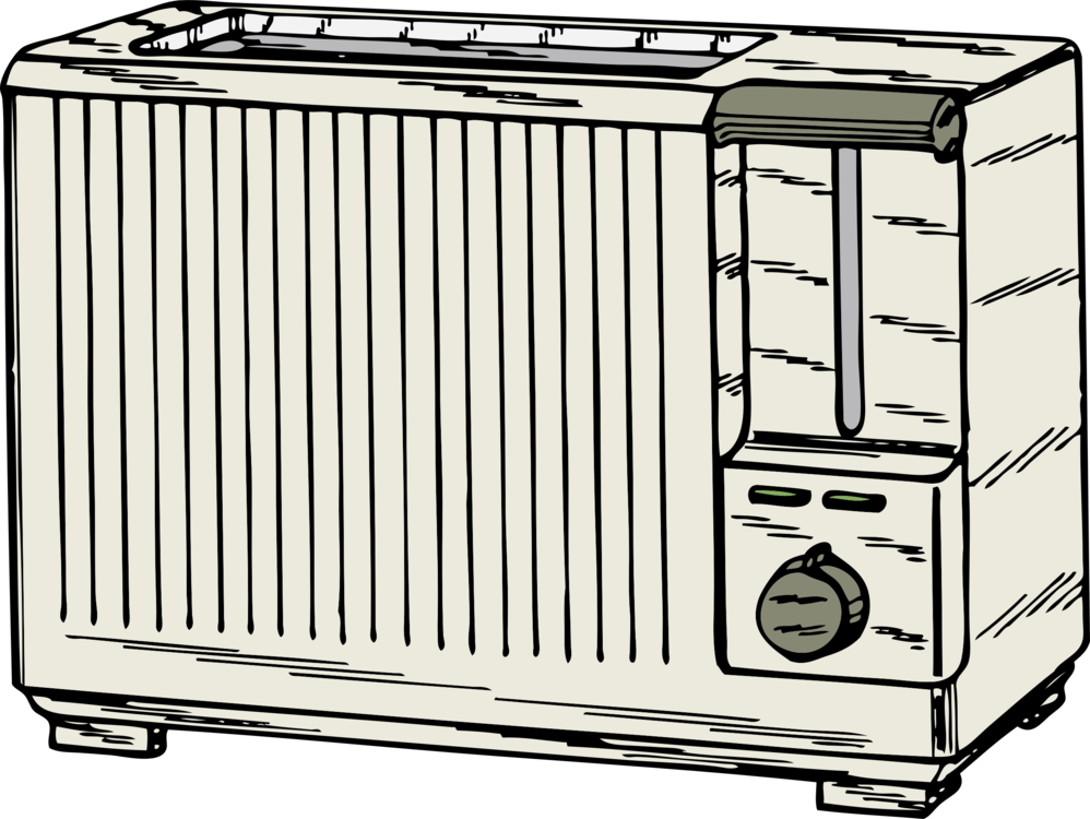 Toaster clipart draw. Toast drawing download computer