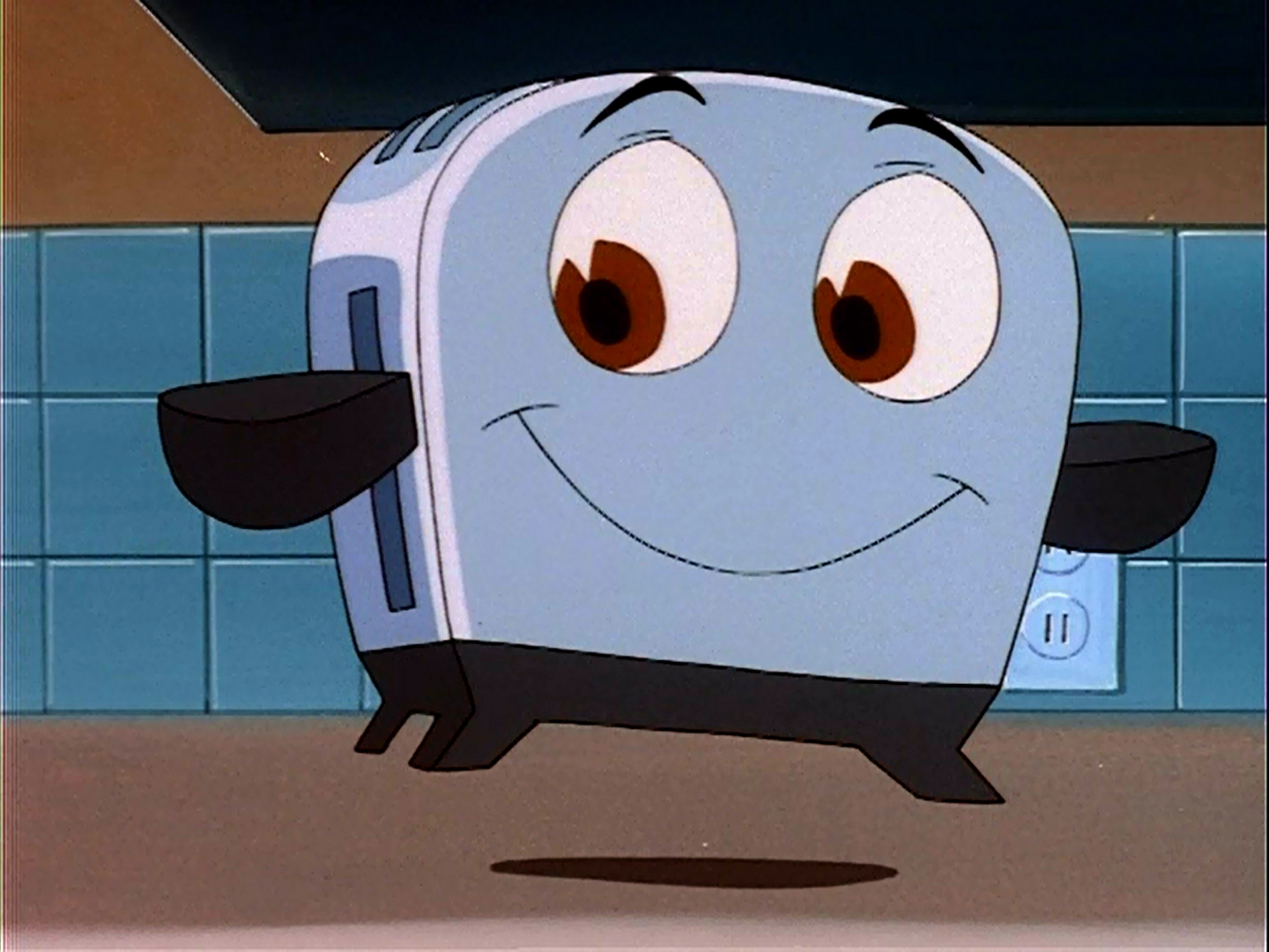 Toaster clipart happy. The brave little turns