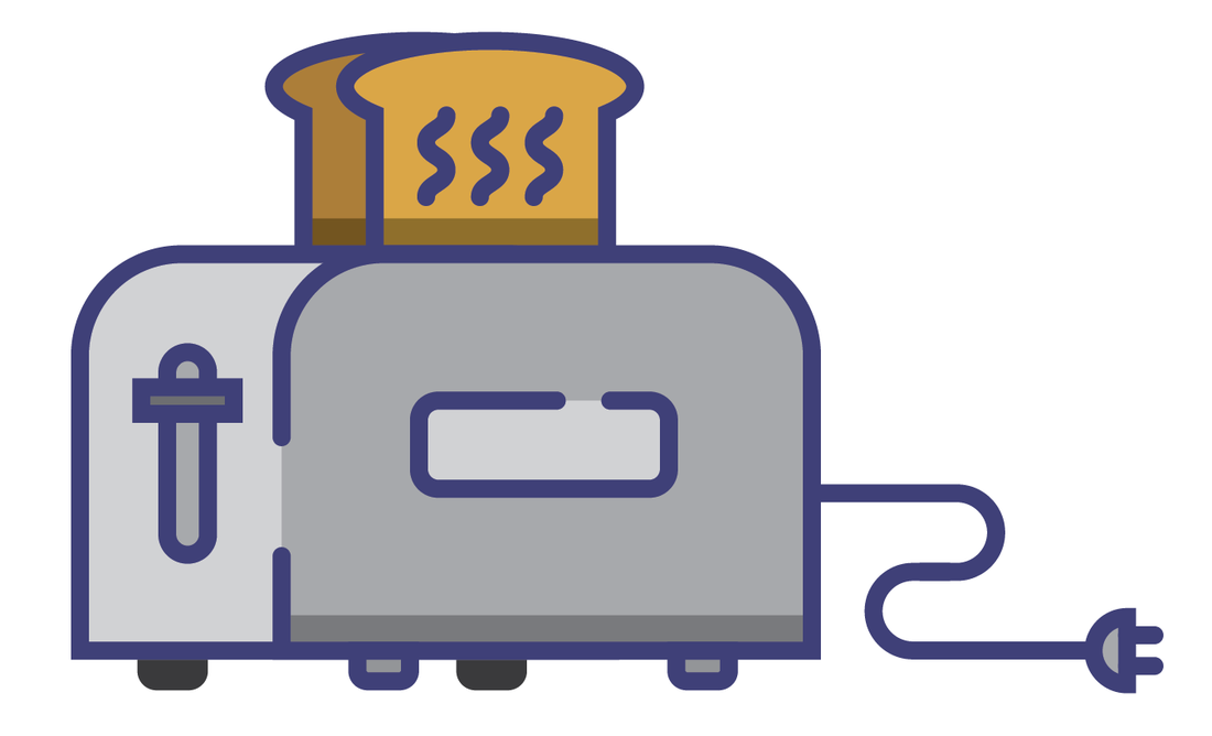 Toaster clipart plug in. Jason hoppe infographic blog