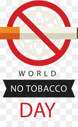 Tobacco clipart anti tobacco. World no day png