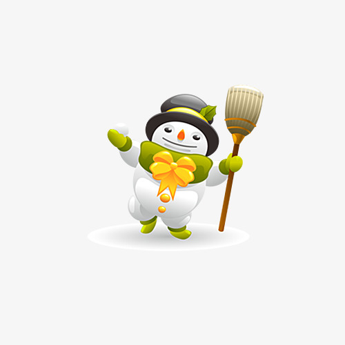 Tobacco clipart snowman. Take the of broom
