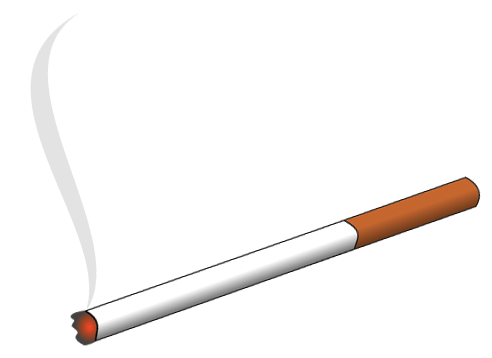 cigarettes vector clear background