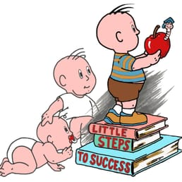 Toddler clipart infant child care. Little steps to success