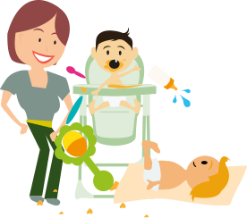 Toddler clipart surprised. Baby